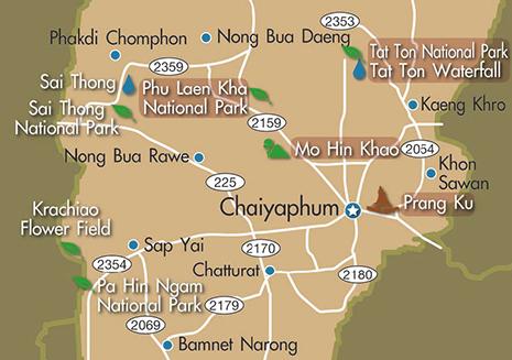 Tanaporn Resort Nong Pai Kaeng Khro Chaiyaphum Thailand